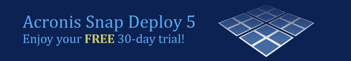 Acronis Snap Deploy Trial